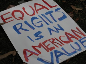 Equal Rights is an American Value